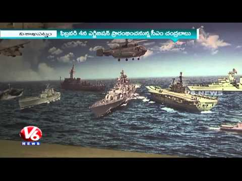 Maritime Exhibition   Navy Stunt Rehearsals Attract Visitors   International Fleet Review 2016