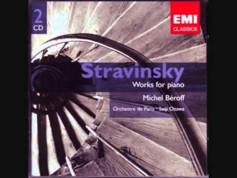 Sonata in F-sharp minor (1904) - I. Allegro- Works for Piano Igor Stravinsky Disc 1