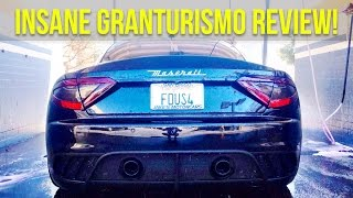Maserati Granturismo MC Sportline Stradale Exhaust , Startup , And review With Cameron Fous