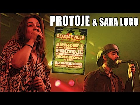 Protoje feat. Sara Lugo - Really Like You in Munich, Germany @ Reggaeville Easter Special 2015
