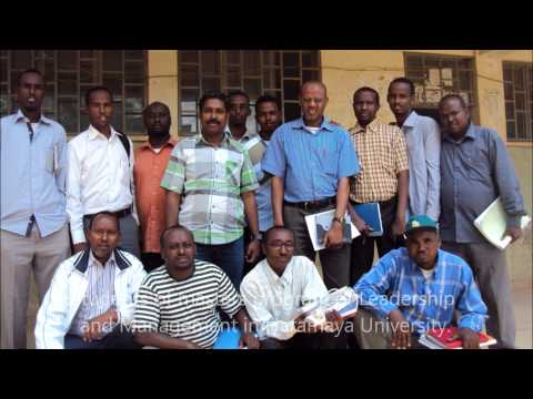 ismail ahmed ismail photos plus his classmates @HU Ethiopia.