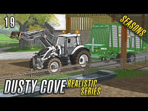 THE CALM BEFORE THE STORM | Realistic Farming Simulator 17 | Dusty Cove | Day 19