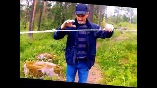 системы для натяжения веревки(Систем для натяга веревок много, здесь я покажу наиболее для меня удобные и любимые веревочные конструкции., 2015-07-25T20:55:03.000Z)