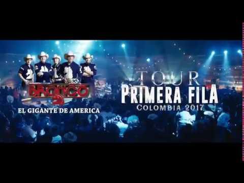 BRONCO En Colombia Sábado 5 De Agosto 2017 Ubaté, Cundinamarca TOUR PRIMERA FILA