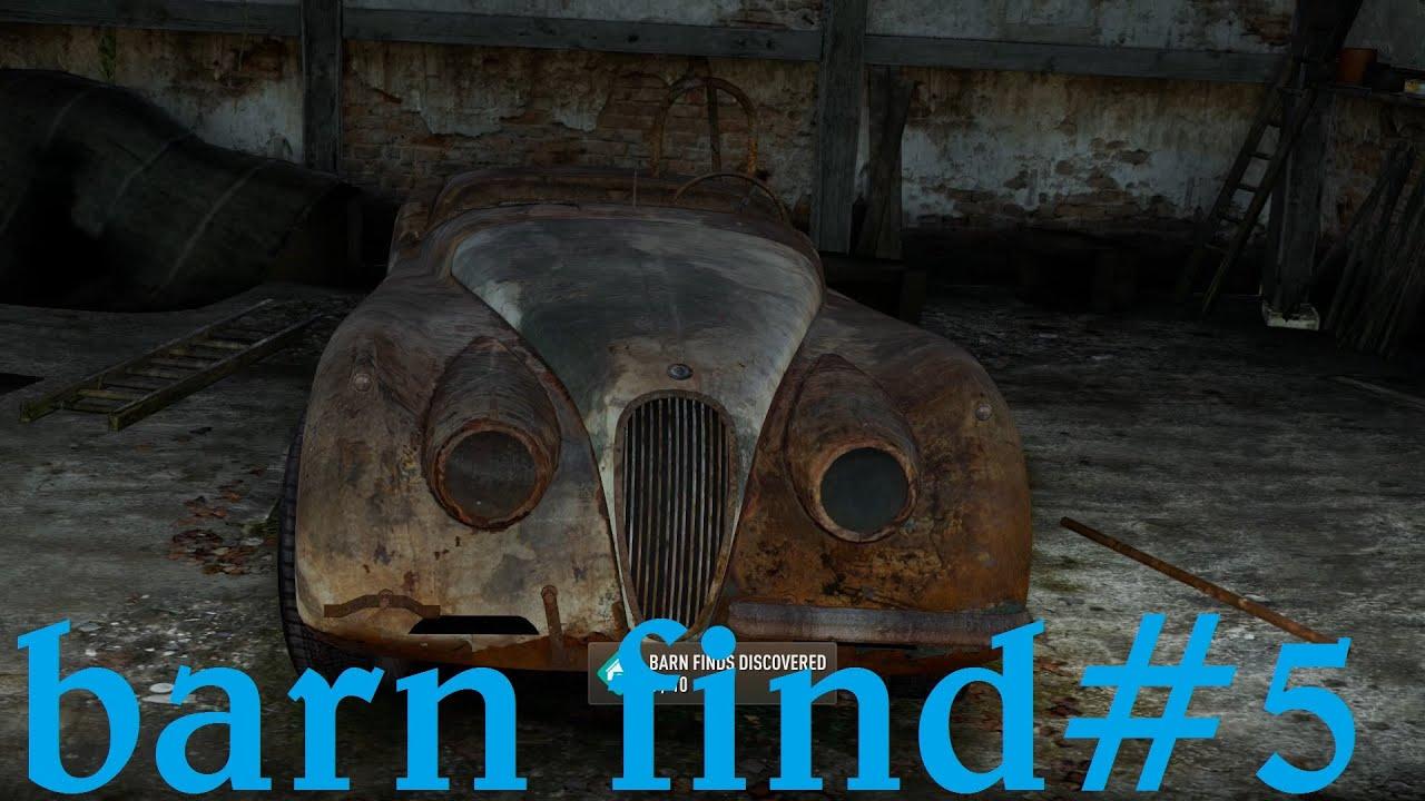 Forza Horizon 2 Barn Find San Giovanni Italia 5 Youtube