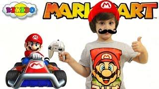 Марио карт машинка на радиоуправление. Распаковка и обзор машинки. Mariokart. Кикидо
