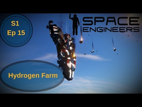 Starting the Hydrogen Farm | Space Engineers Single Survival | Ep 15