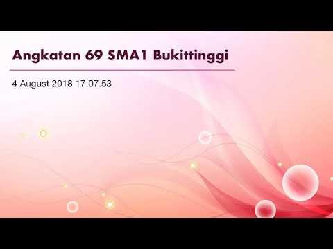 Lagu Ang. 69 SMA1 Bukittinggi