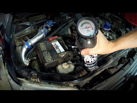 How To Fix Your Car's AC When It's Not Blowing Cold - Recharging With R134A