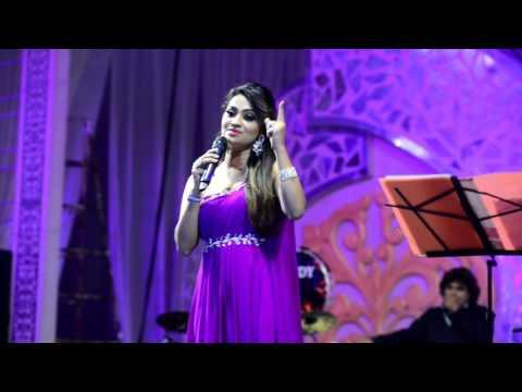 Shweta Rai : Hosting Show With Adnansami + manj Music & Raftaar