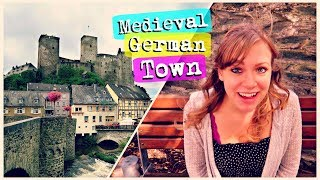 🏰 AMAZING MEDIEVAL TOWN! So Much History! 😲 | Travel Vlog Runkel, Germany