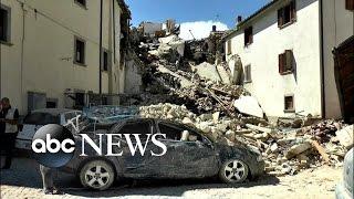 Italy Earthquake Death Toll Climbs to 120