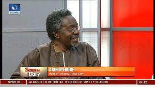 'Problems Of Nigeria Not Zoned, Why Zone Leadership' Oyebode, Moghalu Question Backwardness