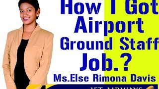 How to get Airport / Airline Jobs? How to become Airline Ground staff ?