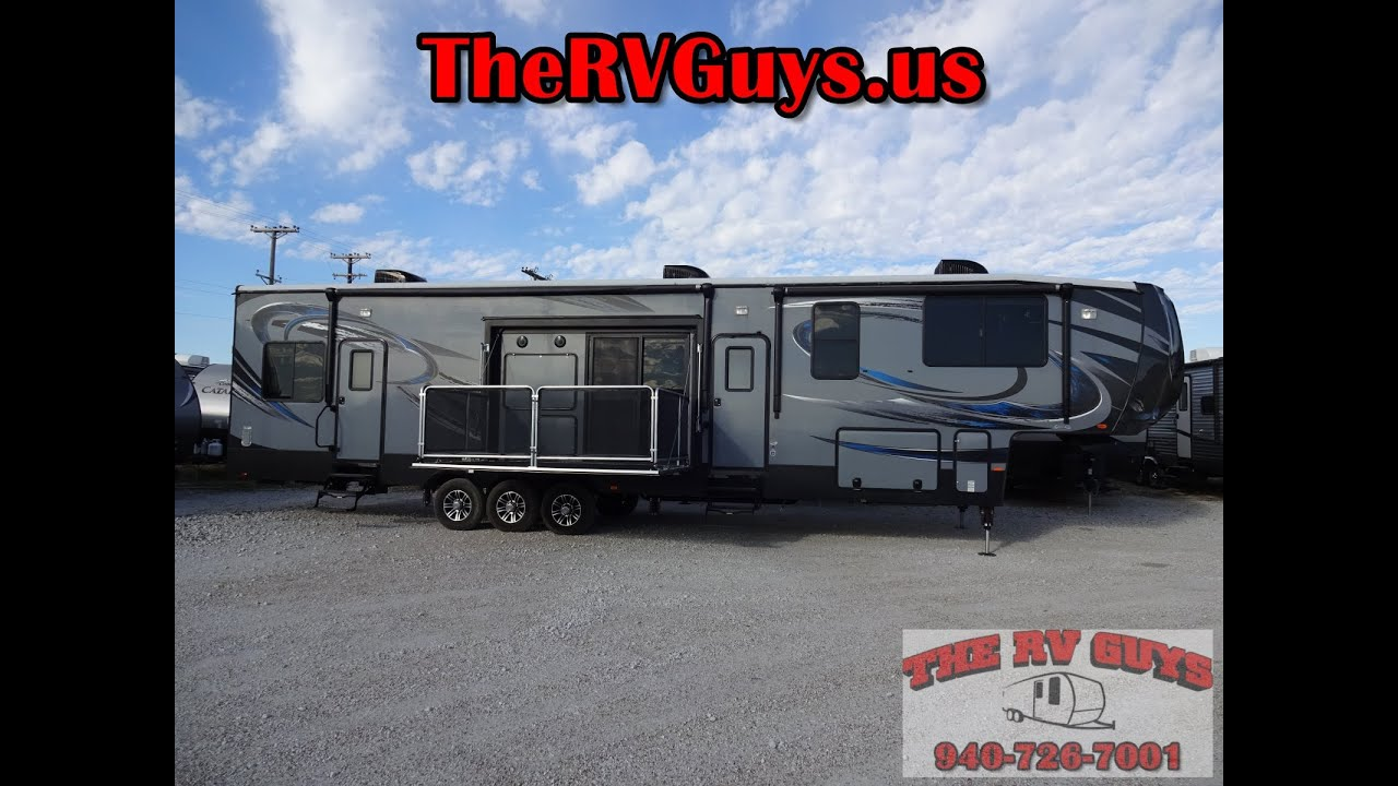 Cyclone 4200 Toy Hauler By Heartland Rv True Luxury In A 5th Wheel