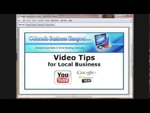 Colorado Business Hangout - Video Tips For Local Business