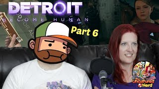 STUFFING THINGS IN KARA'S BRA - Detroit Become Human- Part 6