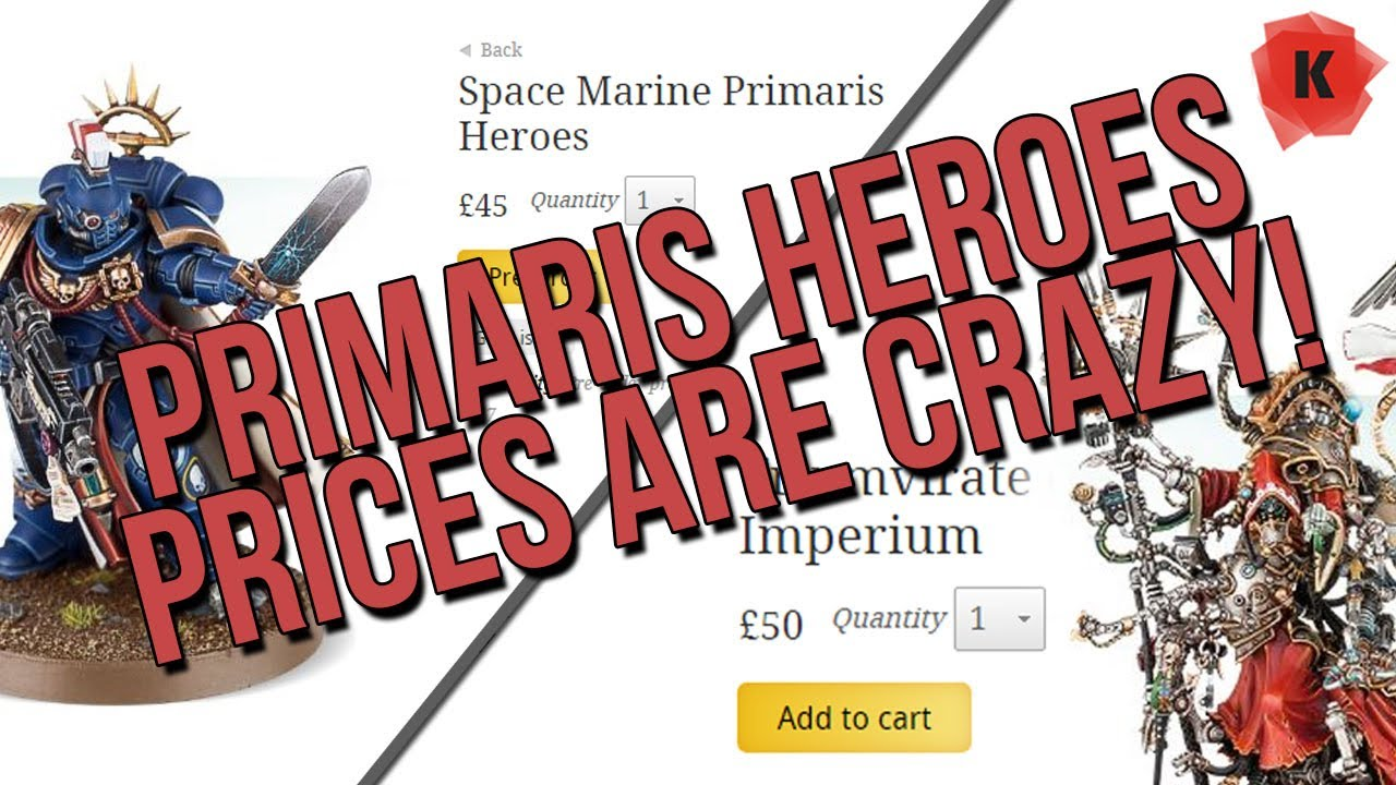 Games Workshop Need To Sort Out Their Pricing System