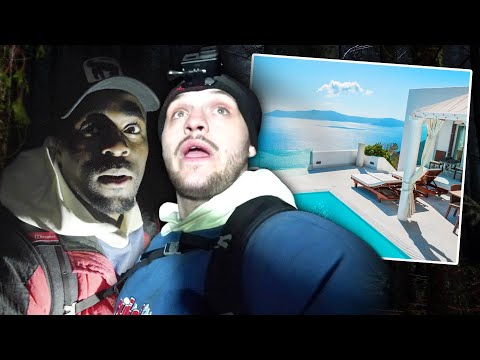 Last To Leave HAUNTED FOREST Wins LUXURY HOLIDAY! (KSI v Logan Paul)