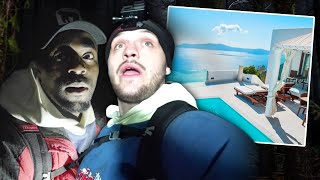 Download Last To Leave HAUNTED FOREST Wins LUXURY HOLIDAY! (KSI v Logan Paul) Mp3 and Videos