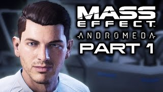 MASS EFFECT ANDROMEDA: Waking Up in a New Galaxy! (Let