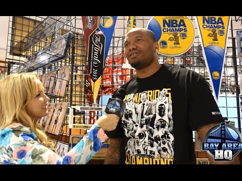 """Warriors Marreese Speights """"Mo Buckets"""" Interview at Classic Materials!"""