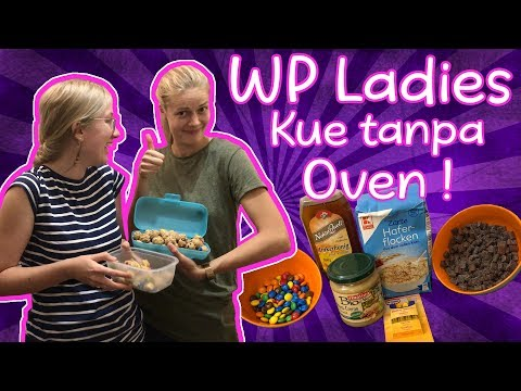 KUE TANPA MEMAKAI OVEN ala WP Ladies! Snack enak dan gampang! #WhitePapuans