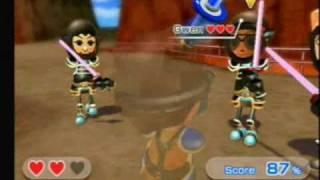 Repeat youtube video Wii Sports Resort - Sword Play - Showdown - Lvl20