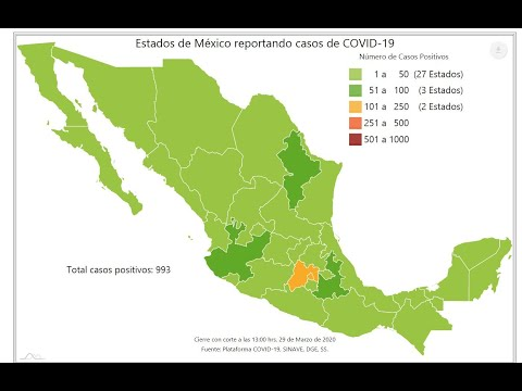 Coronavirus Muertes en Africa 2020 from YouTube · Duration:  3 minutes 23 seconds