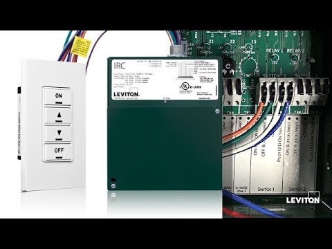 leviton irc how to wire a digital switch