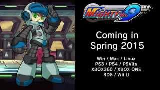 Mighty No. 9 : Work-in-Progress Gameplay Footage