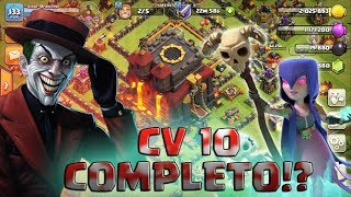 Deixando de ser uma Vila Coringa - Ja Somos CV10 Completo no Clash Of Clans?