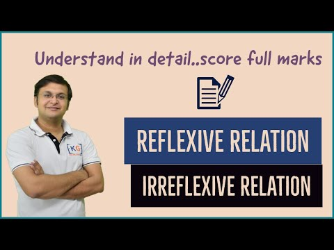 Reflexive and Irreflexive Relations | Discrete Mathematics | GATE | NET | structure - part 2