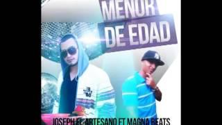 Menor de edad_El Magna Beats_FT_Joseph el Artesano_Platinum Record (DANCEHALL)