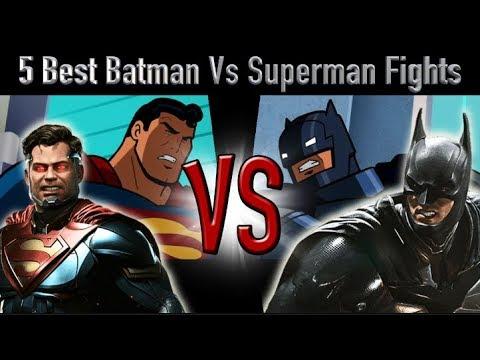 5 Best Batman Vs Superman Fights