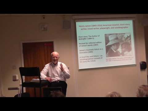 Peter Barry, 'The Ends of Literary Theory', University of Bedfordshire 17.11.16 Part 1