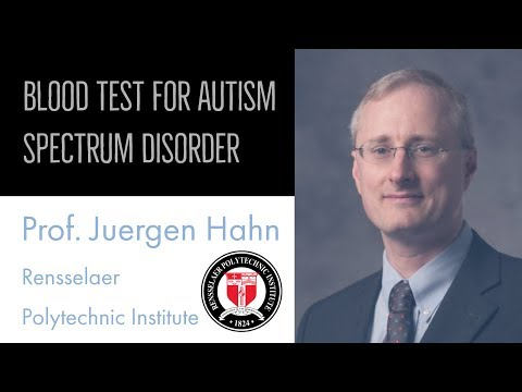 Blood Test For Autism Spectrum Disorder, New Developments