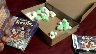 Flintstones Burgertime in Bedrock Unboxing (German Version) Familie Feuerstein
