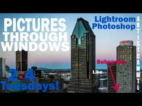 Shooting Through A Window! Removing Glare In Lightroom And Photoshop