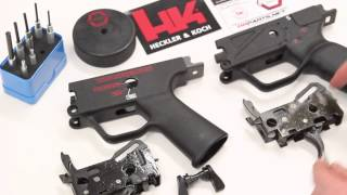 Differences Between The Ambi & Sef Trigger Groups  Housings, Packs, & Levers