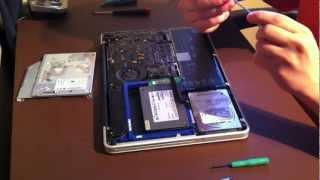 Installer deux disques durs dans un MacBook Pro