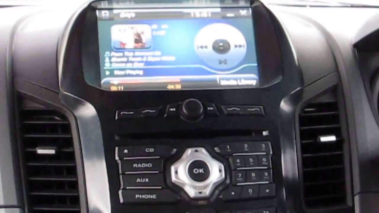 Multimedia Ford New Ranger 2013 Px Wildtrak Gps Navi 2011