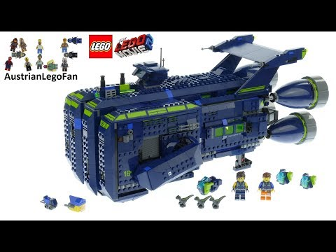 Lego Movie 2 70839 The Rexcelsior Speed Build