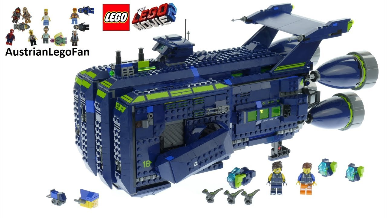 NISB LEGO The LEGO Movie 2 The Rexcelsior 70839