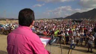 Regantes de Almería piden la reparación de la desaladora Almanzora ante la falta de agua