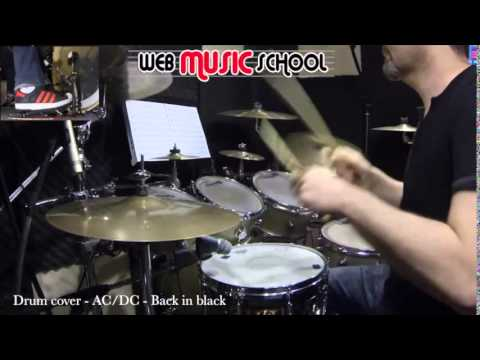 AC DC - Back in black - DRUM COVER