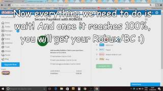 roblox how to get unlimited free robux and obc working november 2016