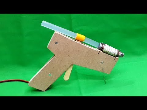 How to Make an Electric Hot Glue Gun at Home - DIY
