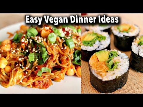 Budget-Friendly & Easy Vegan Dinner Ideas (Recipes June 2018)