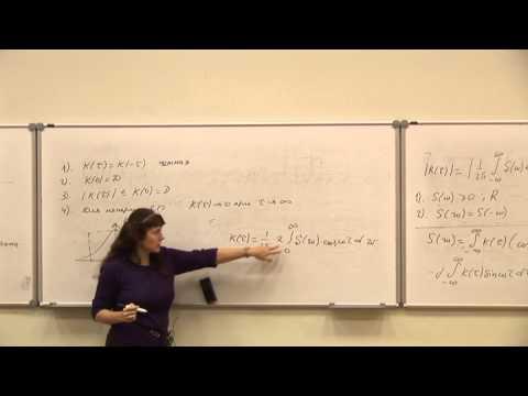 29. Частотные характеристики случайных процессов